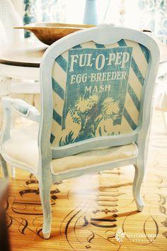 Feed Sack Chair