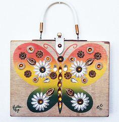 Enid Collins of Texas 1962 Flutterbye Box Bag by niwotARTgallery, $180.00