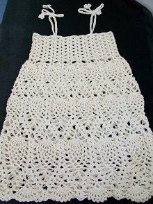 Pineapple Crochet Dress