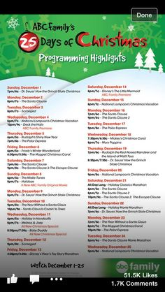 2013 Guide to Holiday Shows