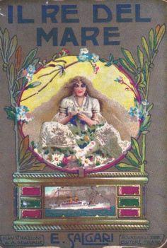 Il Re del Mare, 1906  Copertina (cover) di Alberto Della Valle / The Sea King