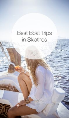 Fun things to do in skiathos - take a boat trip to some amazing places