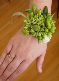 The Wild Orchid Wedding Corsages
