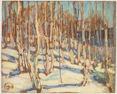 Tom Thomson Catalogue Raisonné | Birches, Fall 1914 (1914.89) | Catalogue entry