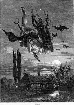 Como gente de brujería debemos prepararnos para volar en las alas de la tormenta.  Peter Gray