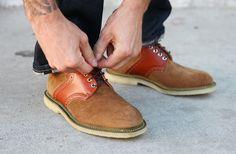 Mark McNairy Corduroy Saddle Shoe-8