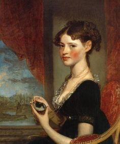 1805 Gilbert Stuart (1755-1828). Ann Penington.