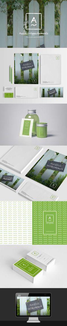 Corporate Design Auszeit-Appartements | CATFISH CREATIVE, Marken- und Designagentur 360° |  Take a look at www.catfishcreative.de