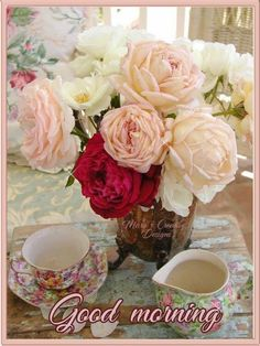 Rose Tea, Tea Roses, Pink Roses, Love Rose, Love Flowers, Flowers Pics, Amazing Flowers, Shabby Chic, Coming Up Roses
