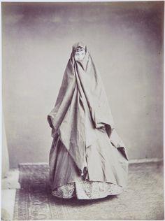 Persian-Armenian woman in outdoors dress, undated.