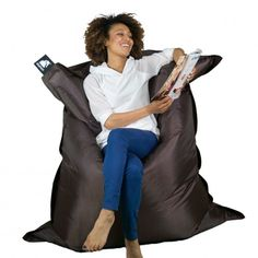 Elephant Jumbo Bean Bag – Chocolate Brown (7)