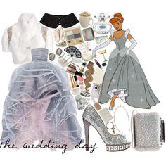 """Disney Challenge:: Cinderella (the wedding day)"" by sbhackney on Polyvore"