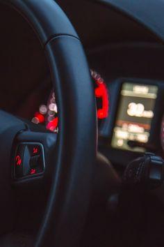 Free stock photo of car, driving, black, audi