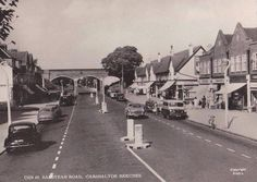 Banstead Road Carshalton Surrey England in 1960