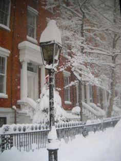 Snowfalls history NYC