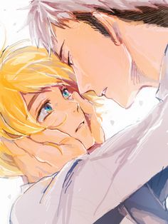 Jean x Armin i dont ship, but this is too cute <3