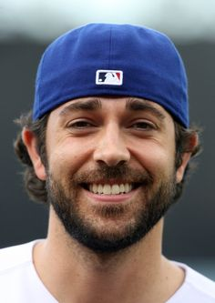 Zachary Levi with a backward DODGER hat.... He seriously fulfilled every dream I had of him.
