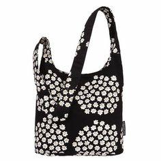 Marimekko Black Puntti Bag - Marimekko Shoulder & Messenger Bags