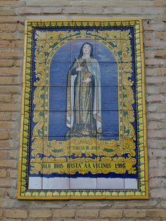 Retablo de Santa Teresa de Jesús en la Iglesia de Santa Teresa.