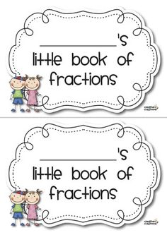 My+Little+Book+of+Fractions+from+Creative+Classroom+on+TeachersNotebook.com+-++(19+pages)+
