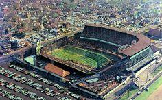 Kansas City Municipal Stadium, former home of the Athletics, Royals,and Chiefs.