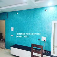 House Ceiling Design, House Design, Exterior Paint, Interior And Exterior, Small Bedroom Colours, Wall Texture Design, Flat Interior Design, Painting Services, Texture Painting