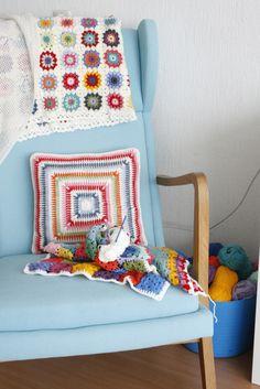 https://flic.kr/p/8Gk2t3   My new crochet corner   Blogged today on: IDA interior LifeStyle