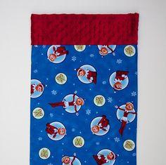 Elf on the Shelf Minky Toddler Travel Pillowcase