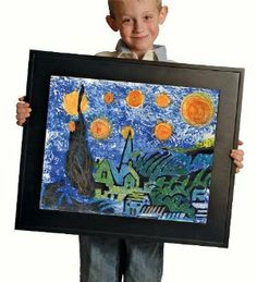 Master Artist Kit - Van Gogh Starry Night by ConstructivePlaythings. $29.98. Create van Gogh's Starry Night masterpiece using the tools provided in this kit. Materials include a sturdy, re-usable art tool box with magnetic closures, 3 custom acrylic paints (child friendly), 5 custom oil pastels (child friendly), 1 van Gogh roller specially designed to replicate van Gogh's active stroke, 1 re-usable Starry Night Cyprus Stencil, 1 standard paint roller, 2 pieces deluxe art p...
