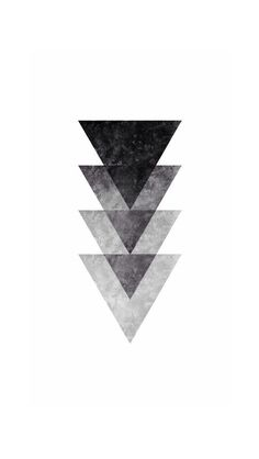 Overlayed Grunge Triangles Abstract iPhone 5 Wallpaper