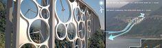 풍력 발전을 통해 전기를 만들어내는 신개념의 다리가 세워질 전망이다. 이탈리아에서 건설을 추진 중인 이 프로젝트는 유명 건축회사 Jaramillo-Azuero Architects (J-A)의 예술적 감각으로 탄생하고 있다.