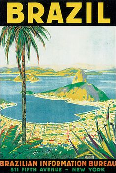 This is Brazil? Not the most enticing poster.