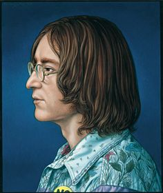 John Lennon, illustration for Rolling Stone 'the Immortals' issue by Marco Ventura