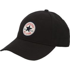 Czapka Converse Core Baseball Cap 560-301 ❤ liked on Polyvore featuring  accessories 755576f71b05