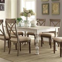 Aberdeen Rectangular Dining Table I Riverside Furniture