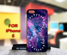 Infinity Hakuna Matata Galaxy For IPhone 5 Black Case Cover | TheArtOffandi - Accessories on ArtFire