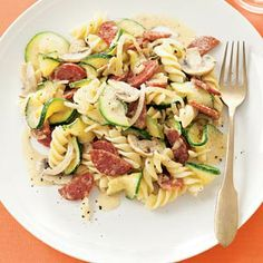 Populair recept in 2012 - Recept - Fusilli met kruidenkaas - Allerhande