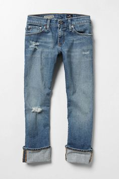 I want some distressed jeans like these