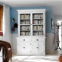 Halifax White Painted Large Dresser