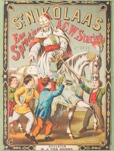 St Nikolaas een sprookje ca. 1874 [illustration retravaillée avec PhotoFiltre]