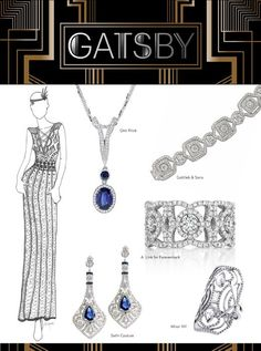 Give Your Gatsby Brides Golden Age Style With These Vintage-Inspired Jewels - JCK