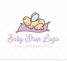 This logo is fit for the startups in the field of baby supply stored, baby products, brands and similar ventures. #LogoDesign #Logodesigner #logomaker #businessgrowth #startups #branding #Inspirational