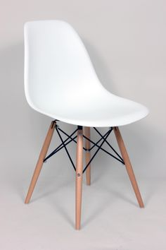 Mid-Century Eiffel Dining Chair [FD130WWHT] - Dining Chairs - Furniture - Shop By Category