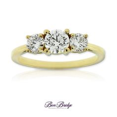 Is the yellow #gold #engagement #ring trend back and here to stay?