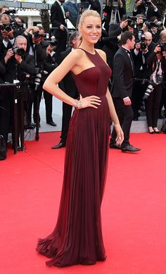 Cannes 2014: The best dressed celebrities on the film festival's red carpet // Blake Lively in Gucci