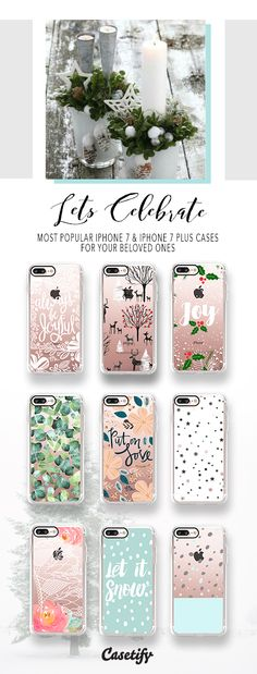 Styles specially designed for your beloved ones! The most popular iPhone 7 Cases and iPhone 7 Plus Cases here > https://www.casetify.com/artworks/EwPR175EPv