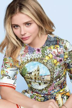 Chloë Grace Moretz by Tesh for Marie Claire US February 2016