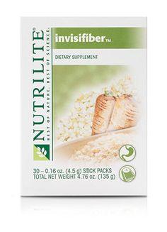 NUTRILITE® Invisifiber Powder. Feel fuller longer.