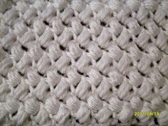 I'm using US terms. I don't remember where I learned this stitch, but I love it! I hope you do, too! what you can do with it: This stitch would be great at the beginning or the end of a scarf or b...
