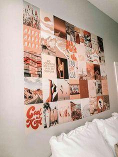 Cute Bedroom Decor, Teen Room Decor, Room Decor Bedroom, Bedroom Ideas, Cute Wall Decor, Bedroom Inspo, Bedroom Wall Ideas For Teens, Bedroom Makeovers, Wall Decorations